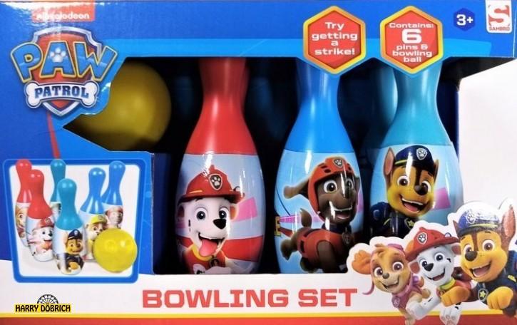 Bowlingspiel Paw Patrol