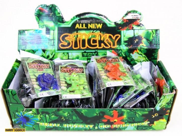 Schleim Figuren Sticky 5cm 15-fach sortiert