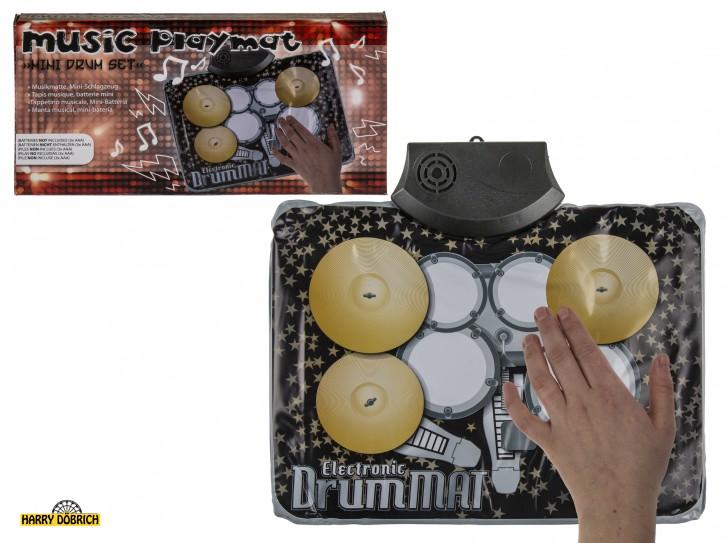 Musikmatte Schlagzeug 34x25cm