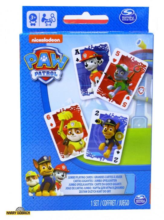 Paw Patrol Jumbospielkarten 52 Blatt