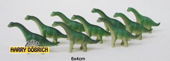 Bullyland Micro Brachiosaurus Dino 6x4cm