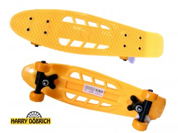 Skateboard 55cm mit Löchern 6 Farben sortiert