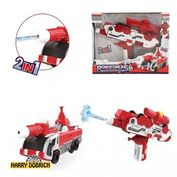 Wasserpistole Transformation Feuerwehrauto