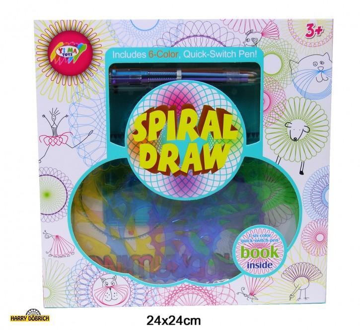 Spirograph mit Farbwechselstift