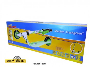 Scooter New Sports Freshgreen bis 50kg