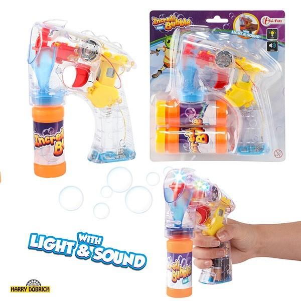 Seifenblasenpistole  mit Licht+Sound
