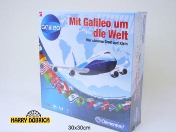 Brettspiel Mit Galileo um die Welt