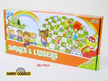 Spiel Snake und Ladders in Box