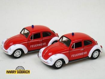 VW Käfer Feuerwehr 12cm Welly