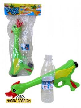 Wasserspritzer Ente 40cm mit Flasche