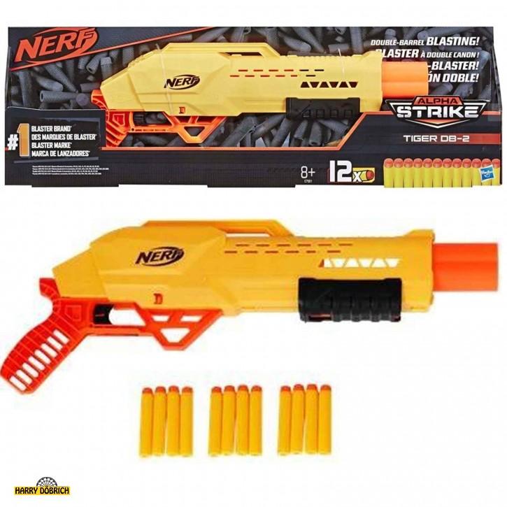 Nerf Alpha Strike Tiger Doppellauf-Blaster