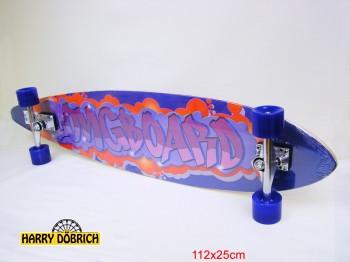 Longboard 112x25cm Design sortiert