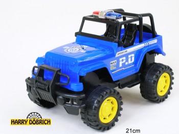 Polizei Jeep 21cm im Beutel