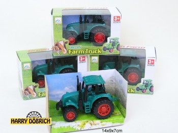 Traktor 12cm im Display