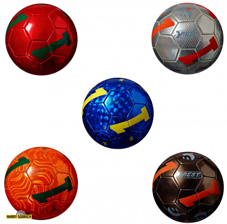 Fussball No. 1 Gr.5 farbig sortiert