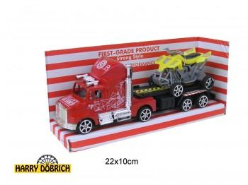 Truck mit Quad