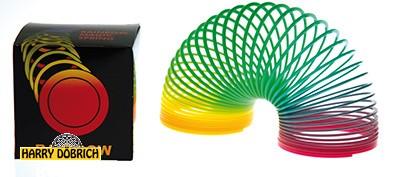 Spirale Regenbogen 7.5x6.5cm