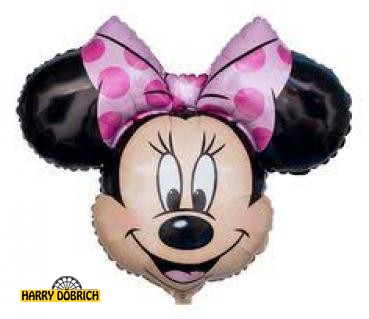 Folienballon Minnie Kopf Shape 71cm