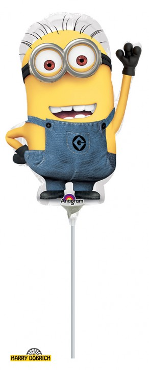 Mini Folienballon Minion