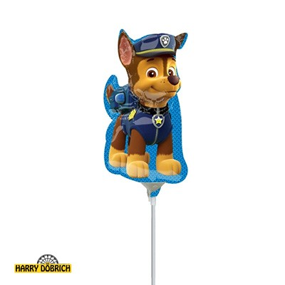 Mini Folienballon Paw Patrol Chase mini