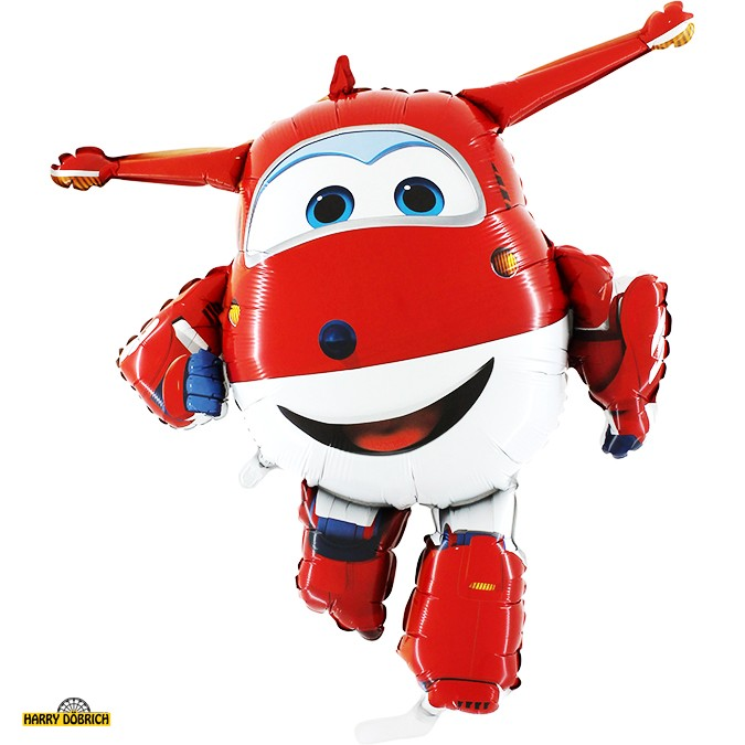 Folienballon Super Wings Jett
