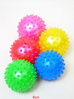 Aufblas-Noppenball 10cm farbig sortiert