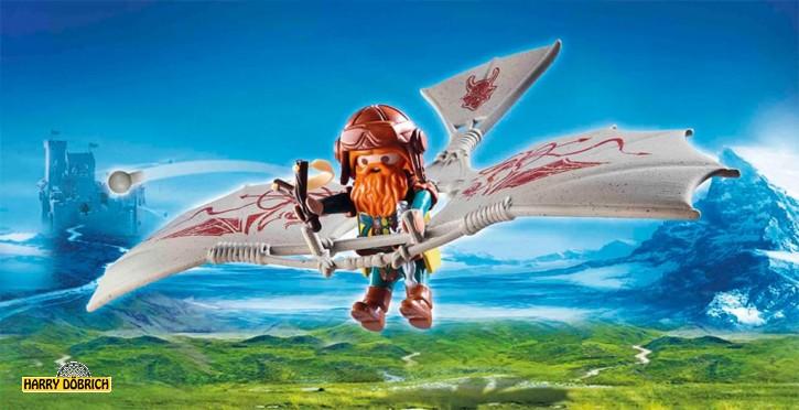 Playmobil Knights Zwergenflugmaschine