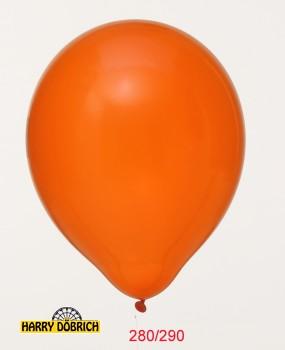 Luftballon riesig 280/290 orange 1 Stück