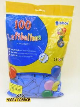 Luftballon 95/105 blau 100 Stück