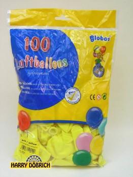 Luftballon 95/105 gelb 100 Stück