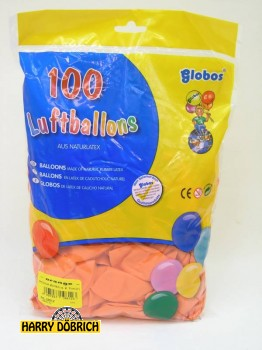 Luftballon 95/105 orange 100 Stück