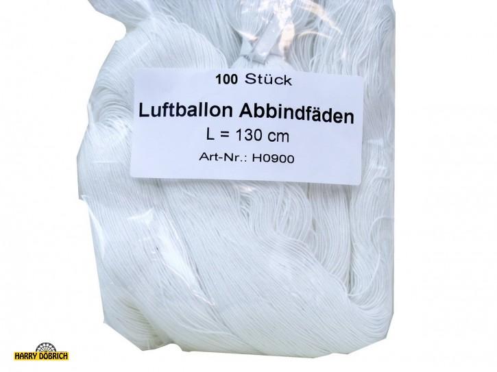Luftballonabbindefäden 100cm 100 Stück