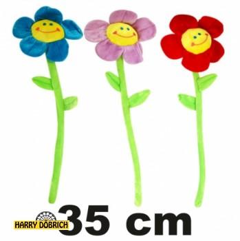 Plüschblume 35cm sortiert
