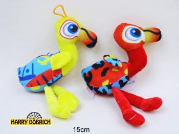 Flamingo 15cm in 4 Farben sortiert