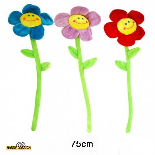 Plüsch Blume 75cm sortiert