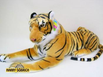 Tiger 60 cm braun liegen