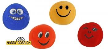 Ball  Funny Face 14cm 4-fach sortiert