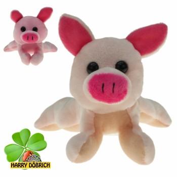 Schwein liegend 17cm 2-fach sortiert