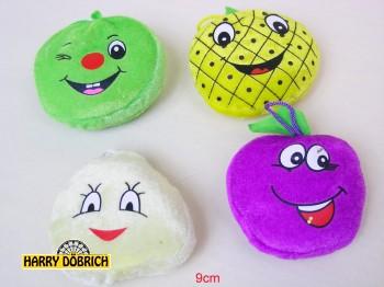 Früchte mit Gesicht 9cm sortiert