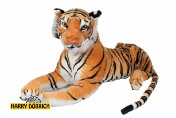 Tiger 100cm braun liegend