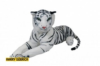 Tiger 100cm weiss liegend