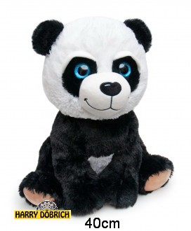Panda Glitzeraugen 40cm