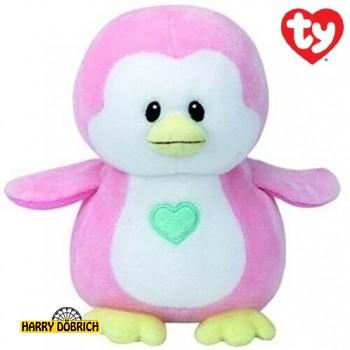 Pinguin Penny 17cm TY rosa