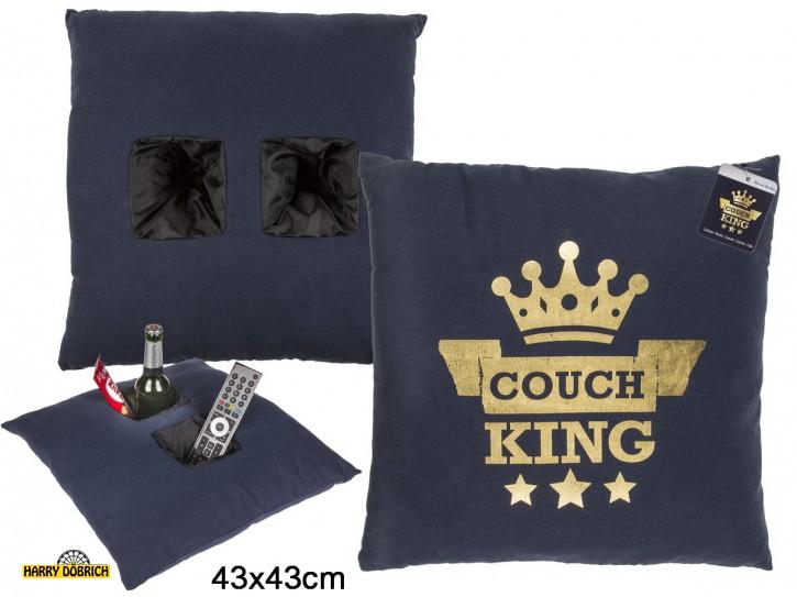 Deko Kissen Couchking 43x43cm