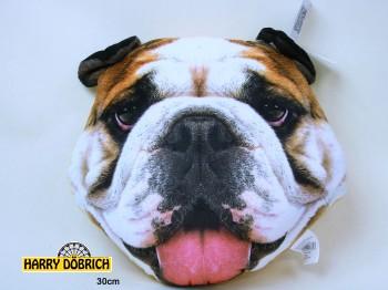 Kissen Bulldogge 30cm