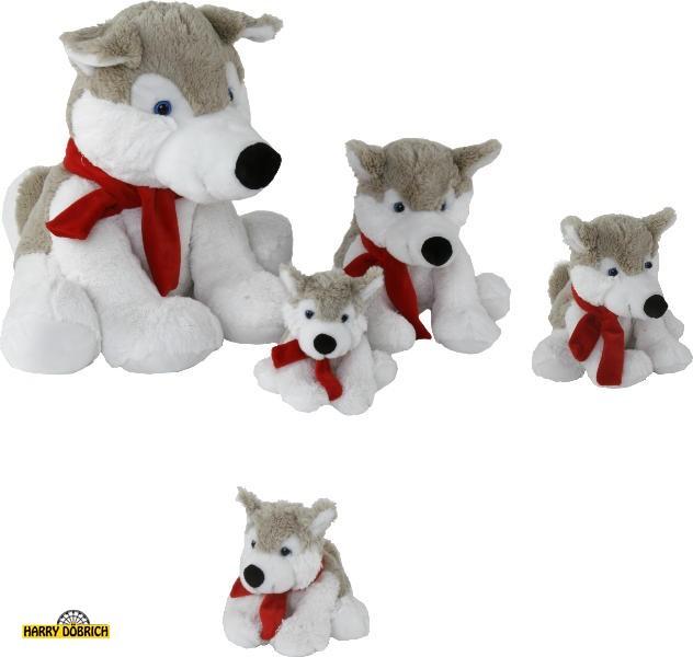 Husky Aico 16cm mit Schal