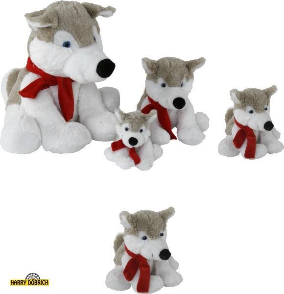 Husky Aico 20cm mit Schal