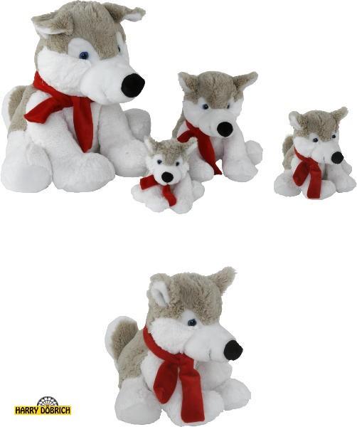 Husky Aico 27cm mit Schal