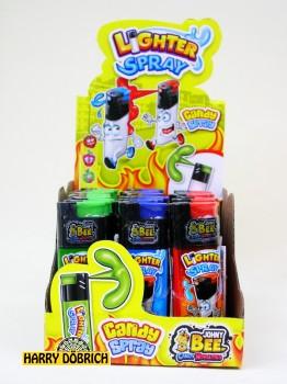 Candy Spray Feuerzeug 15ml 24 Stück