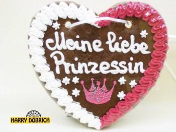 Spruchherz Prinz/Prinzessin 200gr